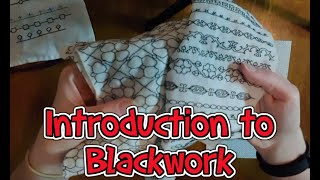 Introduction Into Blackwork Embroidery Revisited (and How To Do)