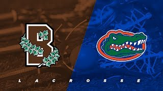 Brown vs. Florida | NCAA Lacrosse
