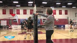Volleyball Warm Up Drill For Ball Control - The Art Of Coaching Volleyball