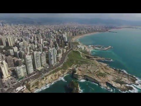 סרטון של נופי ביירות בימים שלפני הפיצוץ בעיר