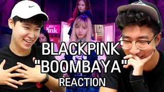 "[ENG] BLACK PINK - ""BOOMBAYAH"" M/V KOREAN DUDES REACTION"