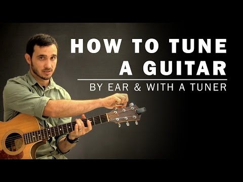 How To Tune a Guitar | Beginner Guitar Lesson