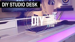 DIY Studio Desk Tisch 2016 (IKEA Hack) | DANNY CHRIS