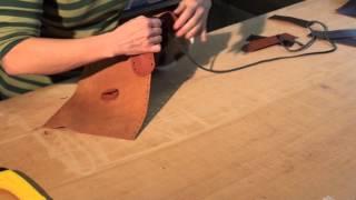 Herstellung unsere Mittelaltertasche - Social Leather