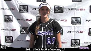 2021 Shelli Faulk First Base and Outfield Softball Skills Video - Grapettes Miranda