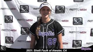2021 Shelli Faulk First Base and Outfield Softball Skills Video - Grapettes Miranda