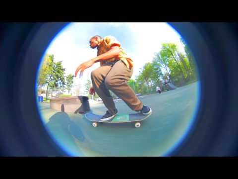 Wall Park Skateboarding Video