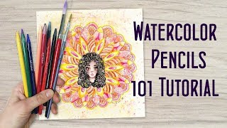 How To Color With Watercolor Pencils