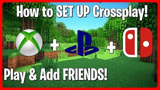 How to CROSSPLAY in Minecraft Bedrock Edition! (PS4, Xbox, PC, Phone & Switch)   Play & Add Friends