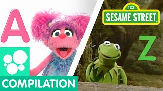 Sesame Street: Alphabet Songs Compilation | Learn the ABCs!