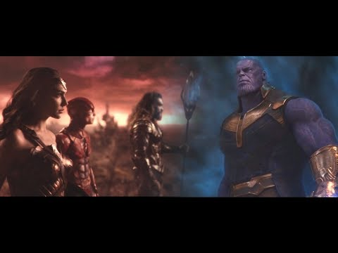 Justice League vs Thanos