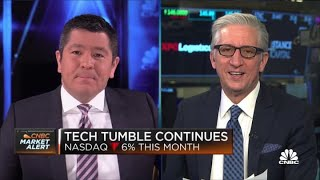 Stocks open lower as Big Tech sell-off continues