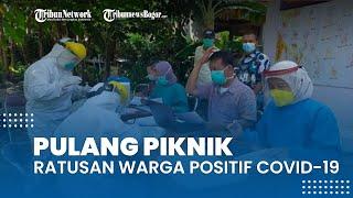 Satu Kampung Pulang Piknik dari Bogor, Ratusan Warga Positif Terpapar Covid-19