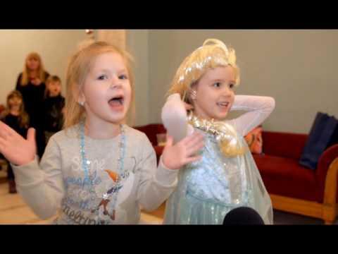 детское мероприятие Холодное сердце в Виннице - 3