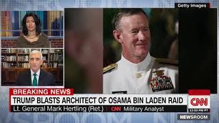 President Trump knocks admiral who oversaw bin Laden raid as a