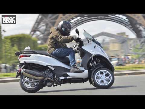Piaggio MP3 350 and 500 first ride | Visordown.com