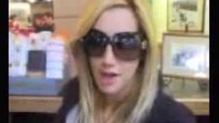 Down time HSM Tour Seattle - Ashley Tisdale