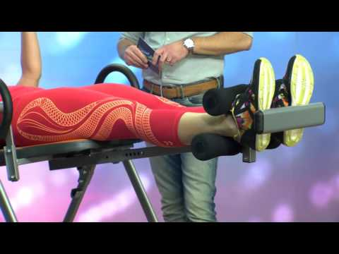 newgen medicals Inversions-Schwerkrafttrainer mit 3 Liegepositionen