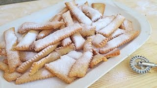 Nonnas Chiacchiere (Italian Fried Cookies) Recipe - Laura Vitale - Laura In The Kitchen Episode 937
