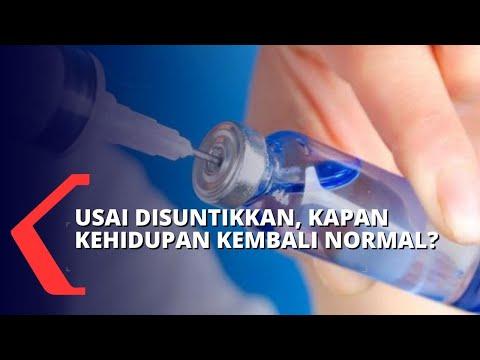 ketua tim riset usai suntik vaksin corona butuh tahun untuk kembali normal