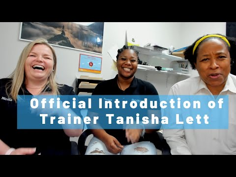 Official Introduction of Trainer Tanisha Lett - YouTube