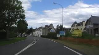 preview picture of video 'Driving Along Boulevard du Général Leclerc & Avenue du Général de Gaulle, Binic, France'