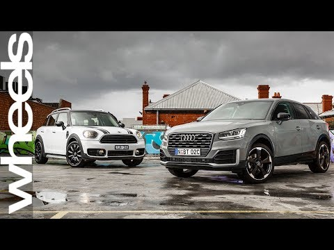 2017 Audi Q2 Design v 2017 Mini Countryman comparison review | Wheels Australia