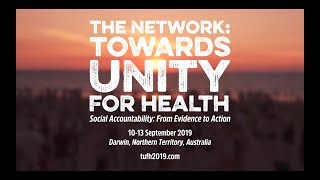 Welcome to TUFH 2019 Conference: September 10-13, 2019 in Darwin Australia
