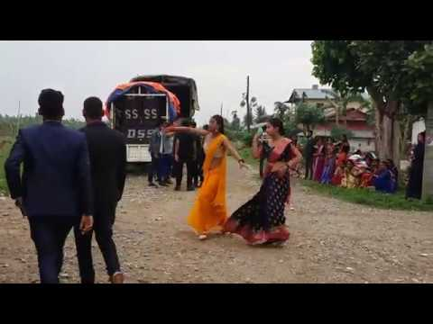 Chitwan tharu wedding dance at Hajipur //nepali song