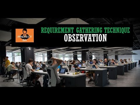 Business Analyst Training For Beginners | Observation - Gather ...