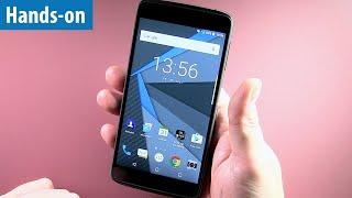 Sicherstes Android-Smartphone? Blackberry DTEK 50 im Hands-on von mobiwatch   Kurz-Test   deutsch