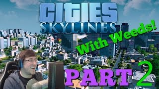 """LETS PLAY! """"Cities: Skyline"""" PART 2!"""