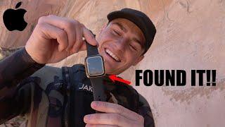 He Found my GOLD Apple Watch Underwater!!