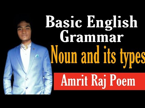Noun and its types (संज्ञा व उसके प्रकार): Abstract, Personal, Common, Collective, Material, Gerund