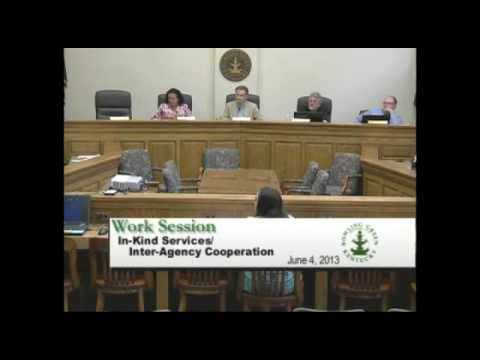 6/4/13 Board of Commissioners Work Session