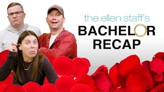 Ellen's Staff Recaps 'The Bachelor' Singapore Trip Drama