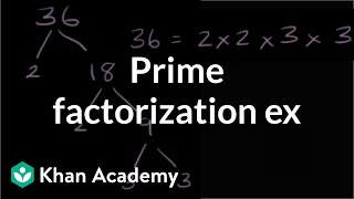 Prime factorization exercise | Factors and multiples | Pre-Algebra | Khan Academy