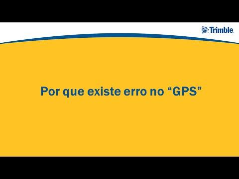 "Porque existe erro no sinal de ""GPS"""