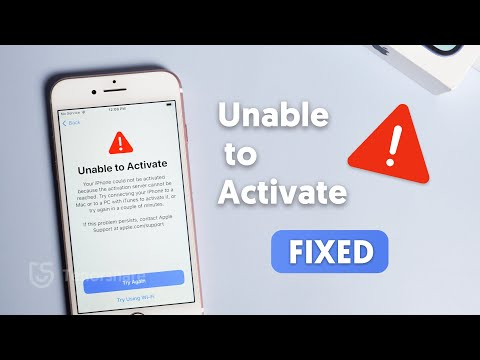 How to Fix Unable to Activate iPhone 2021
