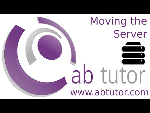 How to move your AB Tutor server