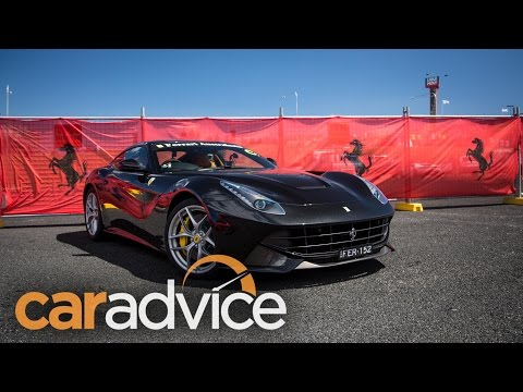 2016 Ferrari F12 Berlinetta Review - The Bathurst experience