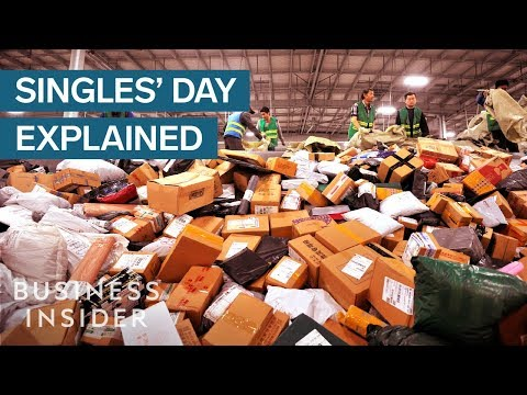 Why People Spent $25 Billion On A Fake Holiday Called 'Singles' Day'