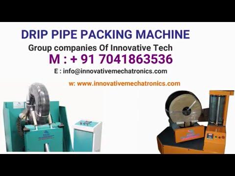 Flat Drip Pipe Wrapping Machine