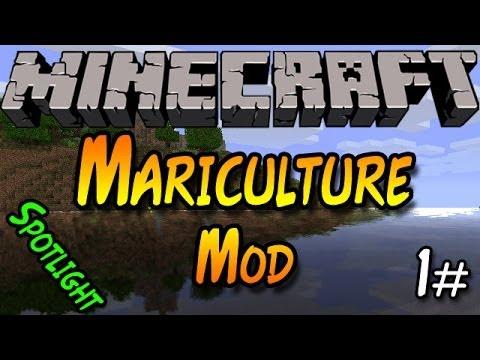Mariculture Mod Spotlight- Part 1 - Minecraft Mods