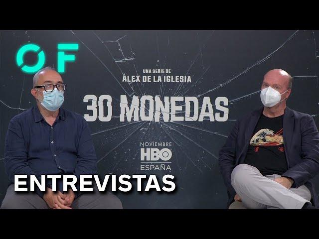 '30 MONEDAS': Entrevista a ÁLEX DE LA IGLESIA y JORGE GUERRICAEHCEVARRÍA