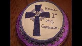 Emma's 1st Communion cake