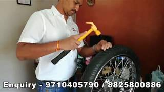 டயர் பஞ்சர் ஆகாது #Seelin Anti puncture Tyre Sealant Working Demonstration in tamil