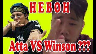 ATTA HALILINTAR VS WINSON REYMALDI, ADA YANG PANSOS???
