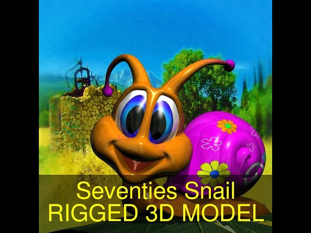 Seventies Snail RIGGED