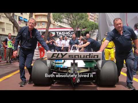 Williams Heritage: Keke and Nico Rosberg reunited